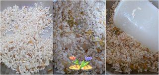 risotto ai fiori di tarassaco con provolone