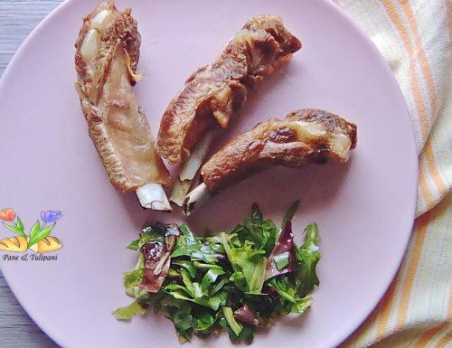 Costine di maiale in airfryer