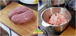 peperoni ripieni con salsiccia e galbanino