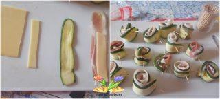 zucchine dorate su salsa speziata