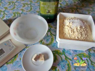 ciambella di grano duro con farina di castagne