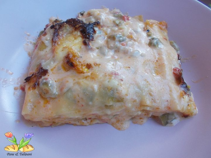 lasagne con fagiolini