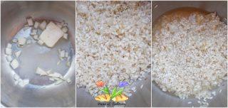 risotto con salame boudeun