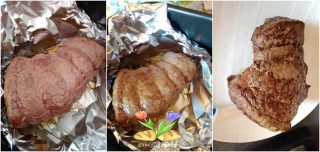 Roastbeef cotto in airfreyer