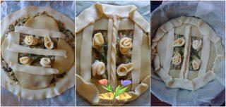 torta salata con fagiolini e ricotta