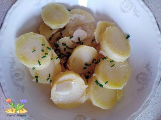 merluzzo al vapore con salsa all'uovo