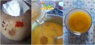 dessert di pere con zafferano