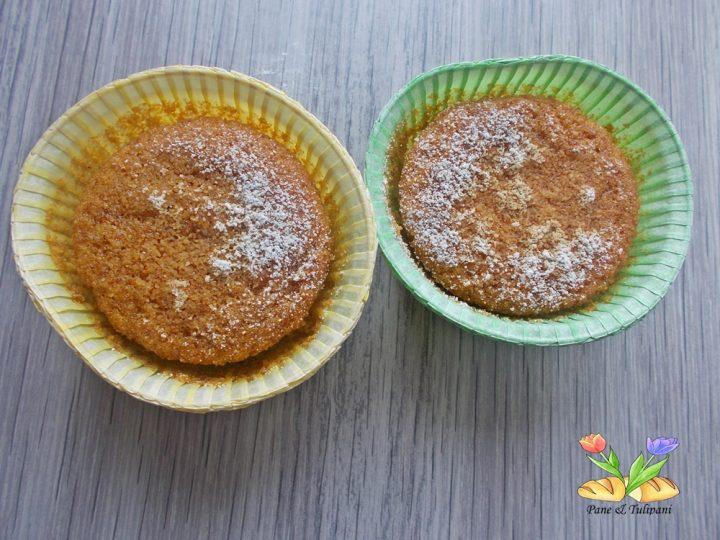 muffin con farina di mais