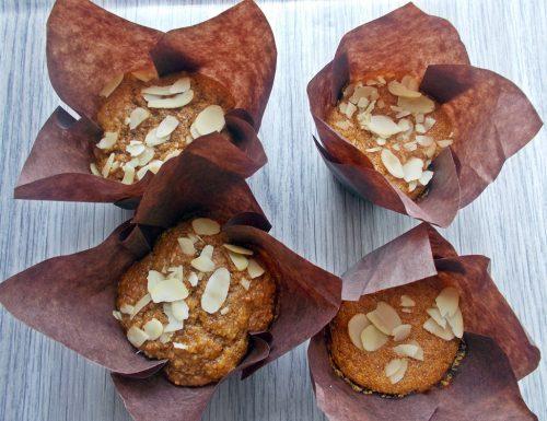Muffin con farina integrale