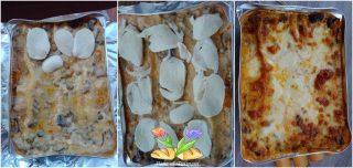 lasagne con funghi porcini