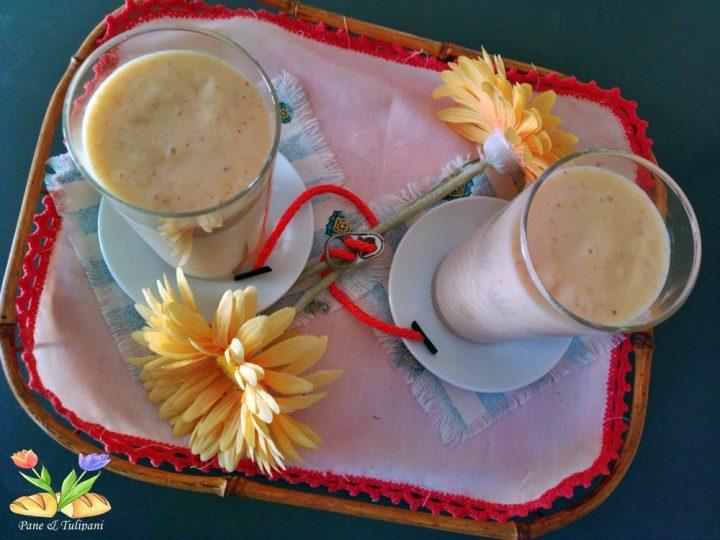 smoothie d'autunno con cachi
