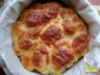 tortino di patate con carne