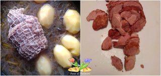 arrosto con onion sauce