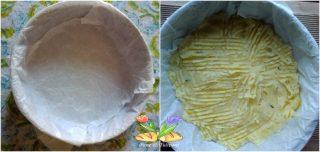 tortino di patate e cavolfiore viola
