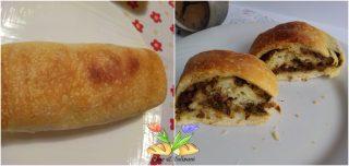 pane fiorito con broccoletti e pecorino