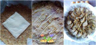 tortino con carciofi gratinati