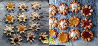 fiori di pasta sfoglia