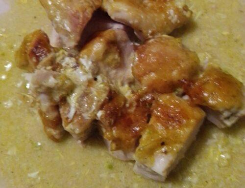 Petto di pollo gratinato al formaggio