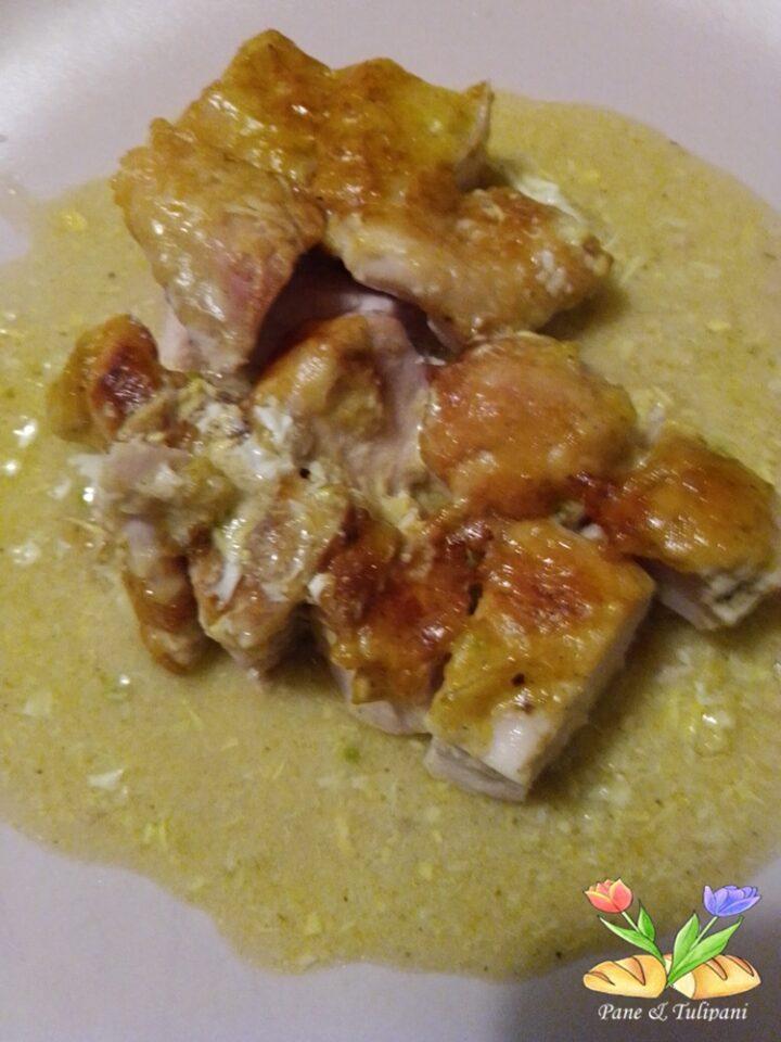 petto di pollo gratinato con pecorino