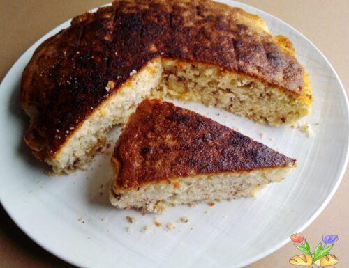 Torta con caldarroste e canditi