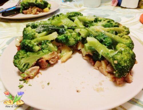 Tortino rovesciato di broccoletti