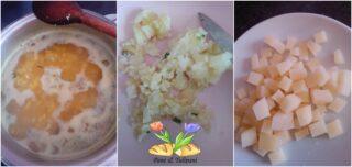 minestra di di riso con patate allo zafferano