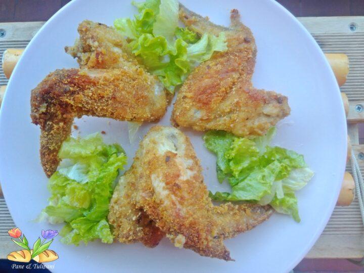 alette di pollo croccanti