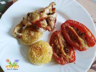 coniglio al forno con parmigiano