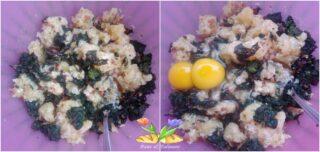 polpette spartane di patate con verdura e pancetta
