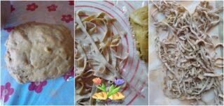 tagliolini agli aromi con zucchine
