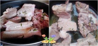 biancostato di vitello con peperoni