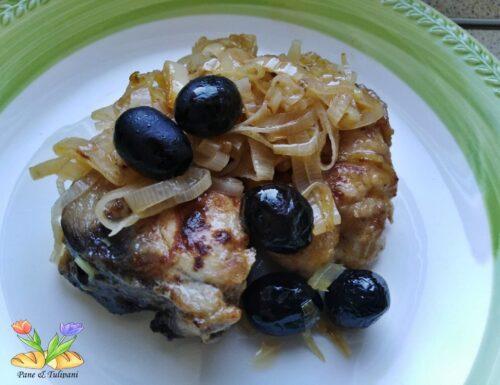 Tranci di tonno con salsa al vino bianco