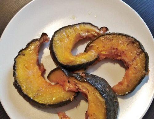 Zucca con aromi al forno