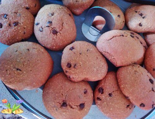 Cookies gluten free al cioccolato