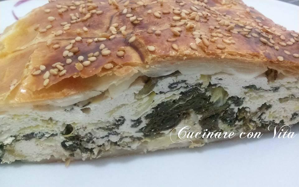 strudel salato-spinaci e ricotta