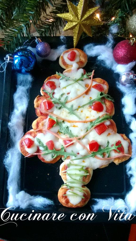 pizza natalizia