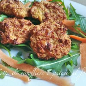 Crochette di cavolfiore e patate al forno