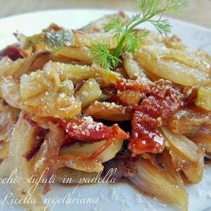 Finocchi stufati in padella ricetta vegetariana