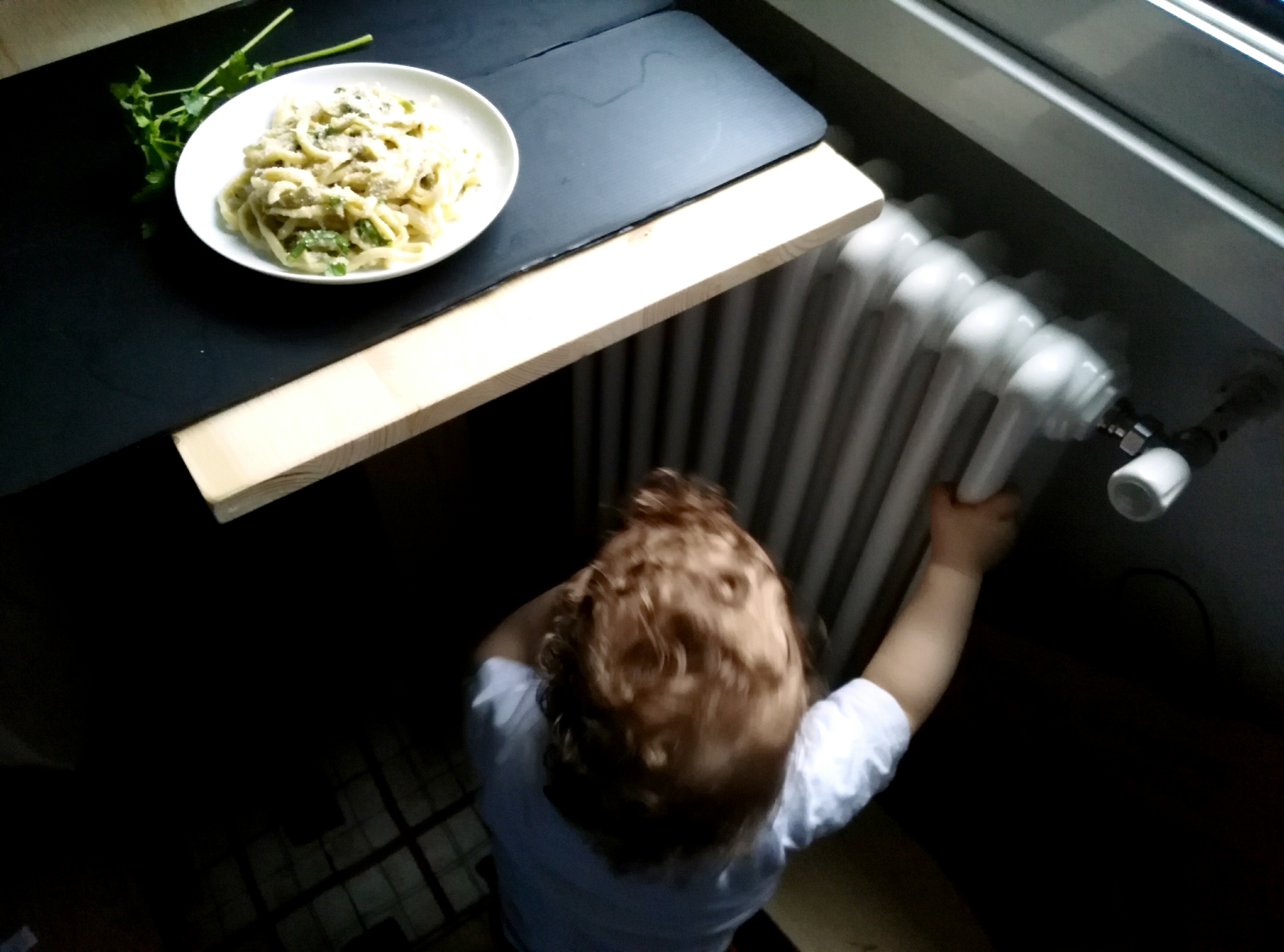 Fettuccine con carciofi