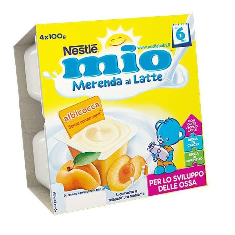 Nestlé MIO merenda al latte