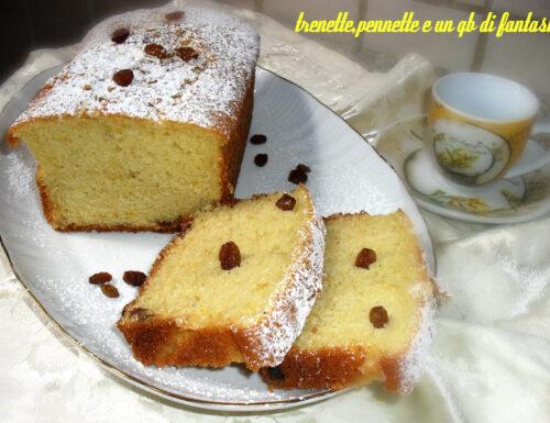 PLUM CAKE AGLI AGRUMI E NOCE MOSCATA
