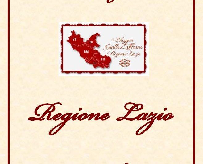 """Raccolta regionale di dolci della regione Lazio """"pdf scaricabili"""""""