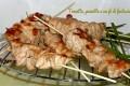 Spiedini di pollo alla soia