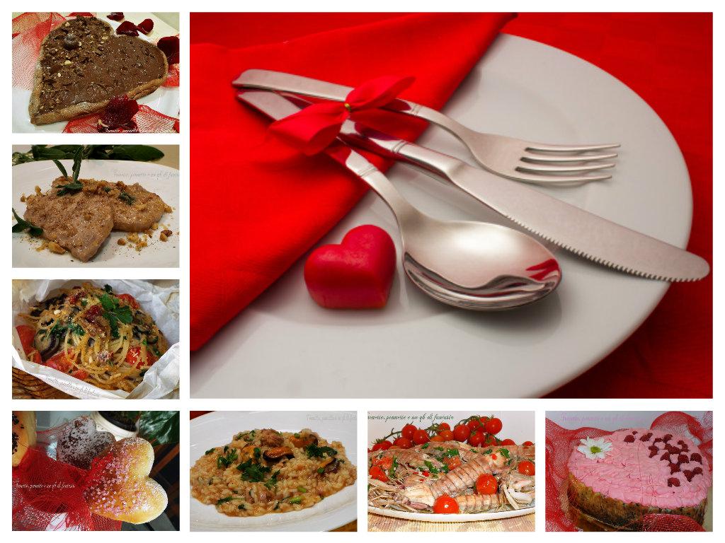 Piccola racoolta di ricette di per San Valentino