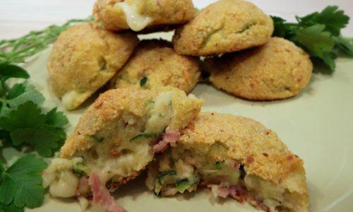 Polpette di patate, zucchine e philadelphia