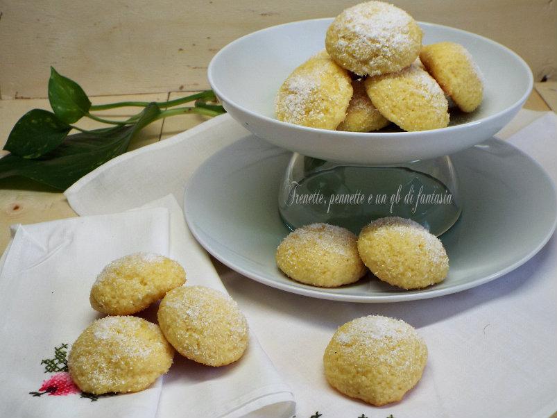 Biscotti al doppio cocco