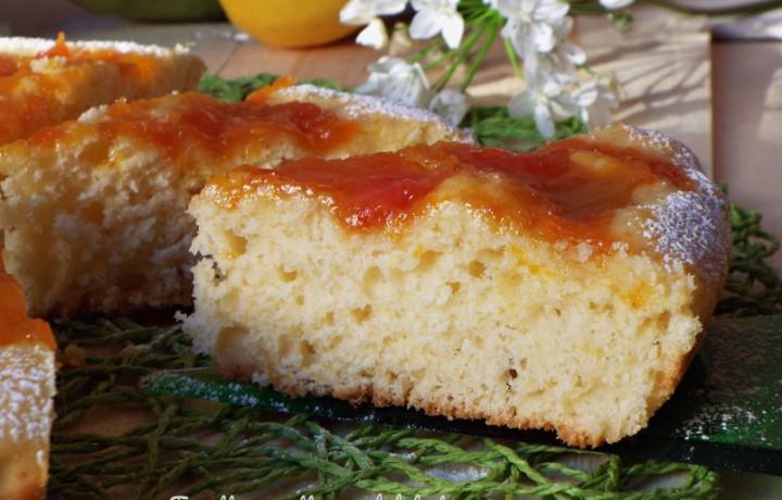 Crostata morbida con marmellata esotica