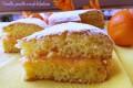Torta con crema d'arancia