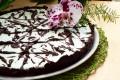 Crostata al cacao con semifreddo alla menta