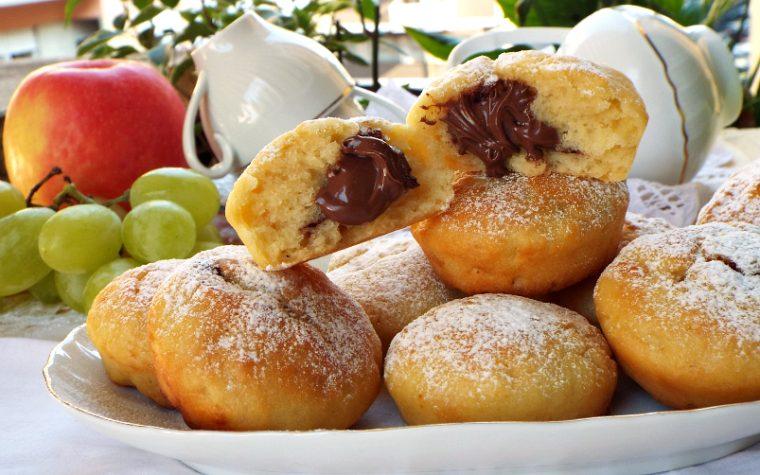 Biscotti morbidi alla crema di pera e nutella